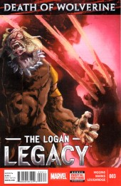 Death of Wolverine: The Logan Legacy (2014) -3- Issue 3