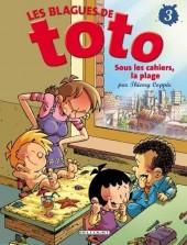 Les blagues de Toto -3a09- Sous les cahiers, la plage