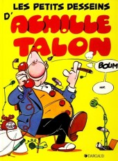 Achille Talon -9c84- Les petits desseins d'achille talon