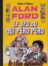 Alan Ford (Coffre à BD) -6- Le jeu du qui perd perd