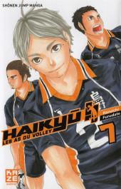 Haikyu !! Les As du Volley -7- Tome 7