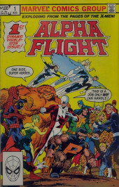 Alpha Flight (1983) -1- Thundra!