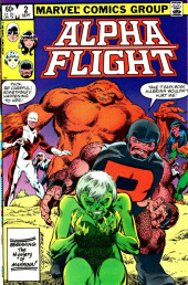 Alpha Flight (1983) -2- Shadows of the past