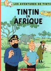 Tintin - Pastiches, parodies & pirates - Tintin en Afrique