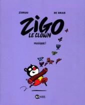 Zigo le clown -3- Musique !