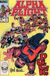 Alpha Flight (1983) -5- What fools these mortals be...