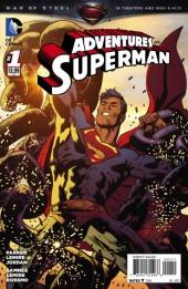 Adventures of Superman (2013) -1- Violent Minds / Fortress / Bizzaro's worst day