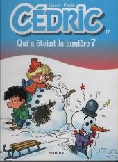 Cédric -17b12- Qui a éteint la lumière ?