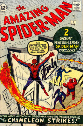 Amazing Spider-Man (The) (1963) -1- Spider-Man - The chameleon strikes!