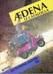 (Catalogues) Éditeurs, agences, festivals, fabricants de para-BD... - Catalogue Automne-Hiver 1986 - Aedena