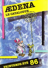 (Catalogues) Éditeurs, agences, festivals, fabricants de para-BD... - Catalogue Printemps-Eté 1986 - Aedena