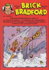 Luc Bradefer - Brick Bradford -PH11- Brick bradford - planches hebdomadaires tome 11