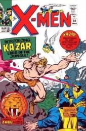 Uncanny X-Men (The) (1963) -10- The coming of... ka-zar!