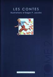 (AUT) Jacobs -33- Les contes-tome 2-illustrations d'Edgar P. Jacobs