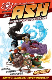 ASH: Academy of Super-Heroes (2014) -INT- ASH: Academy of Super-Heroes