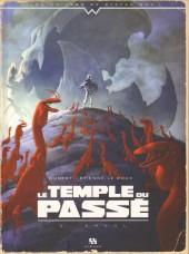 Le temple du passé -2- Envol