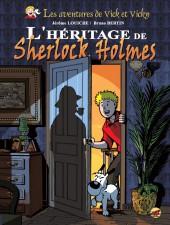 Vick et Vicky (Les aventures de) -21- L'Héritage de Sherlock Holmes