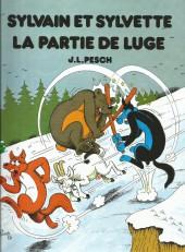 Sylvain et Sylvette -IntFL3- La partie de luge - La chaumière en péril