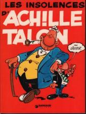Achille Talon -7b76- Les insolences d'Achille Talon