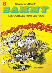Sammy -6- Les gorilles font les fous