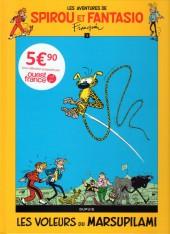 Spirou et Fantasio -5Ouest Fr.- Les voleurs du marsupilami