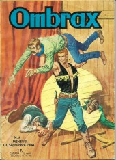 Ombrax -8- Le crocodile du Gange