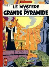 Blake et Mortimer (Historique) -4a56- Le Mystère de la Grande Pyramide - Tome II