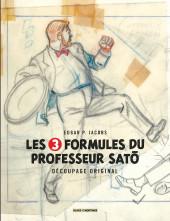 Blake et Mortimer (Divers) -12HS- Les 3 Formules du Professeur Satô - Découpage original