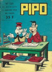Pipo (Lug) -129- Bull chercheur de truffes