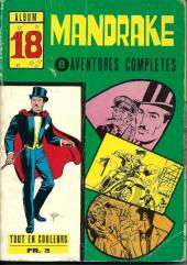 Mandrake (1e Série - Remparts) (Mondes Mystérieux - 1) -REC18- Album N°18 (du n°236 au n°243)