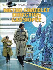 Valérian -9- Métro Châtelet direction Cassiopée