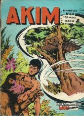 Akim (1re série) -54- vingt minutes d'angoisse