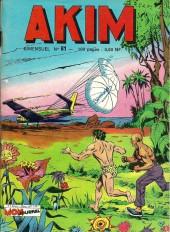 Akim (1re série) -81- L'île en flammes