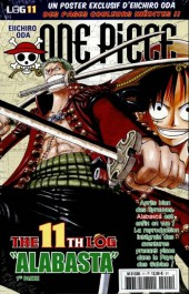 One Piece - La collection (Hachette) -11- The 11th Log
