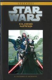 Star Wars - Légendes - La Collection (Hachette) -727- Clone Wars - II. Victoires et sacrifices