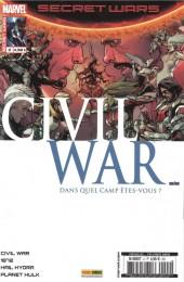 Secret Wars : Civil War -2- Premiers mouvements