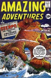 Amazing Adventures (1961) -6- SSERPO, The creature who crushed the world!!