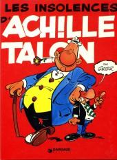 Achille Talon -7b78- Les insolences d'Achille Talon