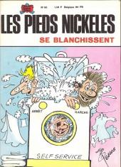 Les pieds Nickelés (3e série) (1946-1988) -65- Les pieds nickelés se blanchissent