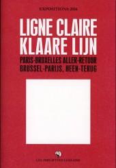 (Catalogues) Expositions - Ligne claire, paris-bruxelles aller-retour