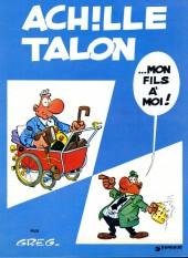 Achille Talon -4c82- Achille Talon...mon fils à moi!
