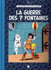 Les schtroumpfs - La collection (Hachette) -7- La guerre des 7 fontaines