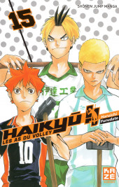 Haikyu !! Les As du Volley -15- Tome 15