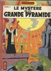 Blake et Mortimer (Historique) -4a56- Le mystère de la grande pyramide tome 2