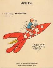(Catalogues) Ventes aux enchères - Artcurial - Artcurial - l'univers du créateur de Tintin - Paris - Hôtel Marcel Dassault - 26 novembre 2011