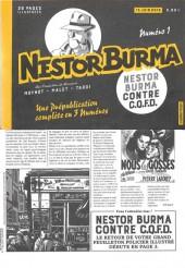 Nestor Burma (Feuilleton) -4- Nestor Burma contre C.Q.F.D. - Numéro 1