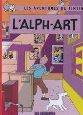 Tintin - Pastiches, parodies & pirates -42- L'Alph-Art