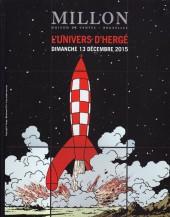 (Catalogues) Ventes aux enchères - Millon - L'univers d'Hergé Dimanche 13 décembre 2015 - Duplex Paris-Bruxelles #10