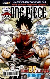 One Piece - La collection (Hachette) -27- The 27th Log