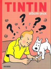 Tintin - Divers -AJ4- Album-jeux 4